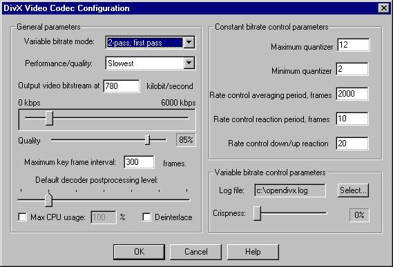 Vfw codec for virtualdub download free